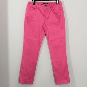 Ladies Lauren Ralph Lauren Hot Pink Dress Pants
